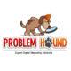 Studio Sabine - Illustraties & Ontwerp | Logo ontwerp Problem Hound