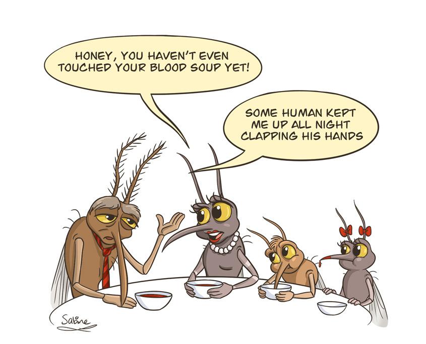 Studio Sabine - Illustraties & Ontwerp | Illustratie muggen familie