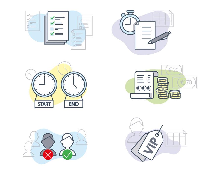 Studio Sabine - Illustraties | Vector illustraties en iconen Onduro