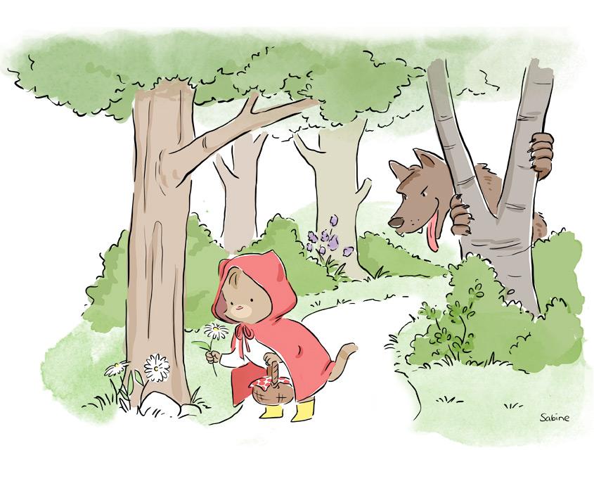 Studio Sabine - Illustraties & Ontwerp | Illustratie kinderboek