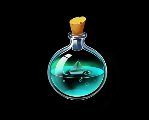 Studio Sabine - Illustraties & Ontwerp | Illustraties potion bottles games