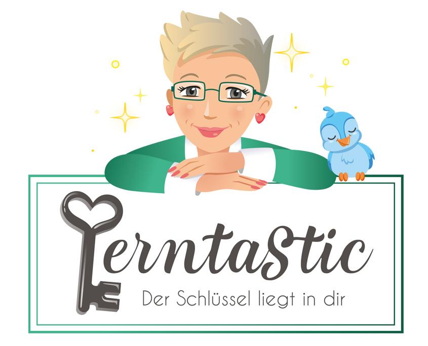 Studio Sabine - Illustraties | Logo ontwerp Lerntastic