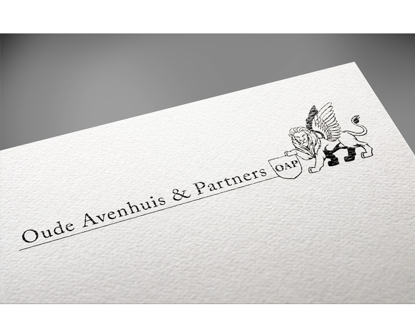 Studio Sabine - Illustraties | Logo advies bureau Oude Avenhuis & Partners
